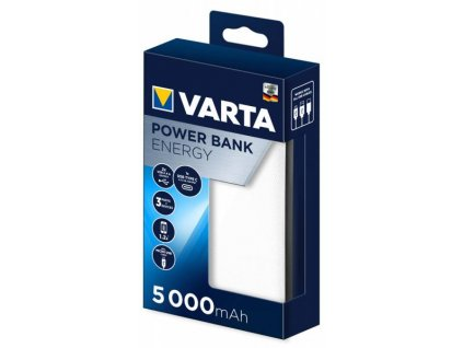 VARTA Power Bank Energy 5000mAh White