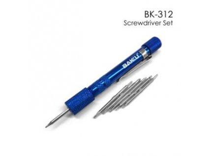 BK-312 Sada Šroubováků 12v1