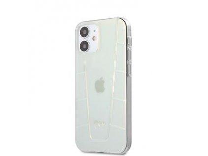 MEHCP12SCLIR Mercedes Transparent Line Kryt pro iPhone 12 mini 5.4 Iridescent