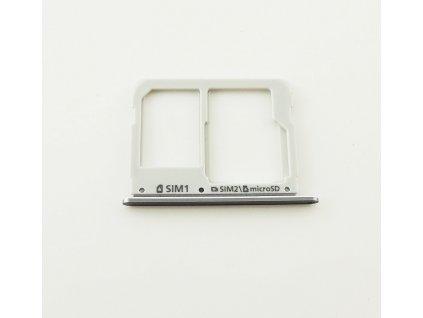 Samsung A310F,A510F SIM+MicroSD držák černý