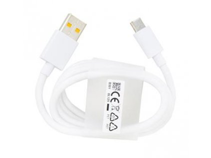 DL129 RealMe Type-C Datový Kabel Fast Charge White (Service Pack)