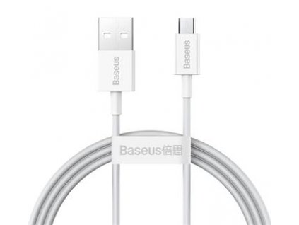 Baseus CAMYS-02 Superior Fast Charging Datový Kabel MicroUSB 2A 1m White