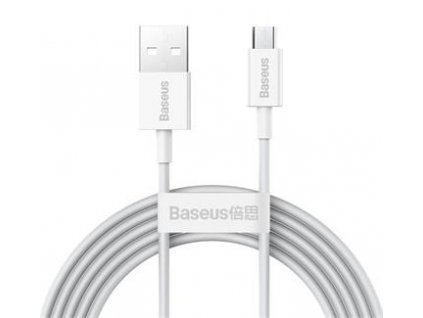 Baseus CAMYS-A02 Superior Fast Charging Datový Kabel MicroUSB 2A 2m White