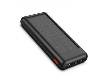 Allpowers AP-SC-004-BLA Solární nabíječka 1,5W + 24000mAh PowerBank Black