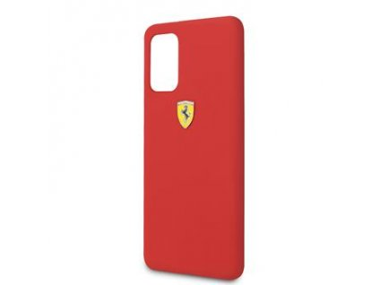 FESSIHCS67RE Ferrari SF Silikonový Kryt pro Samsung Galaxy S20+ Red