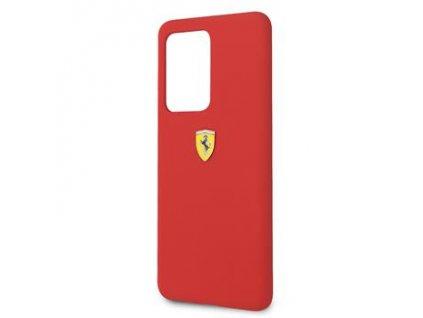 FESSIHCS69RE Ferrari SF Silikonový Kryt pro Samsung Galaxy S20 Ultra Red