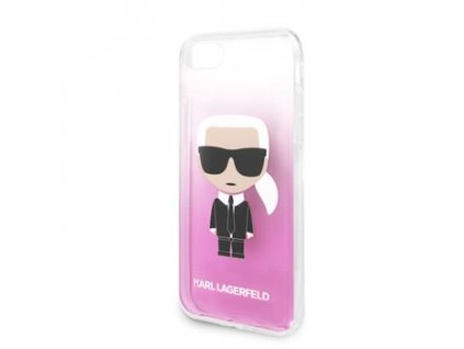 KLHCI8TRDFKPI Karl Lagerfeld Fun Sunglasses Kryt pro iPhone 8/SE2020 Pink