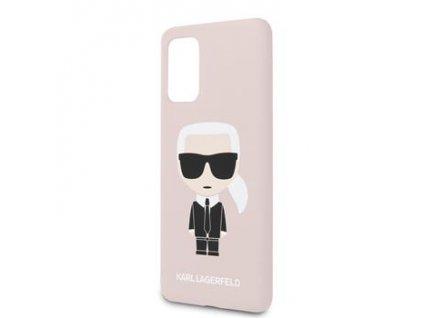 KLHCS67SLFKPI Karl Lagerfeld Full Body Kryt pro Samsung Galaxy S20+ Pink