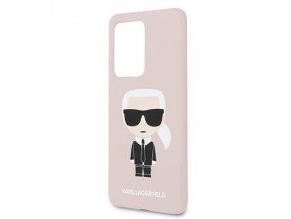 KLHCS69SLFKPI Karl Lagerfeld Full Body Kryt pro Samsung Galaxy S20 Ultra Pink