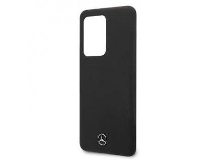 MEHCS69SILSB Mercedes Silikonový Kryt pro Samsung Galaxy S20 Ultra Black