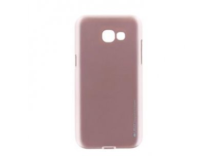 Mercury i-Jelly TPU Case pro Samsung A520 Galaxy A5 2017 Rose Gold