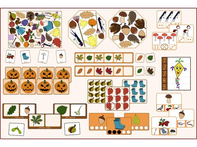 podzimní aktivity predskolak