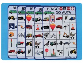 Bingo do auta nahled