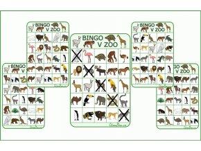 Bingo do zoo nahled