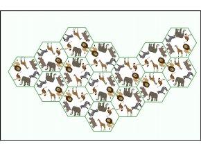 hexa domino africka zvirata