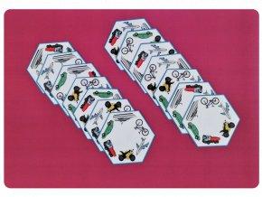 hexa domino dopravní prostředky