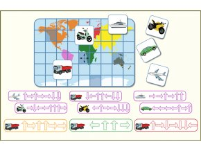 orientace cesta kolem světa nahled