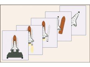 vzlet raketoplánu
