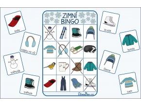 zimní bingo