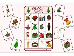 vanocni bingo