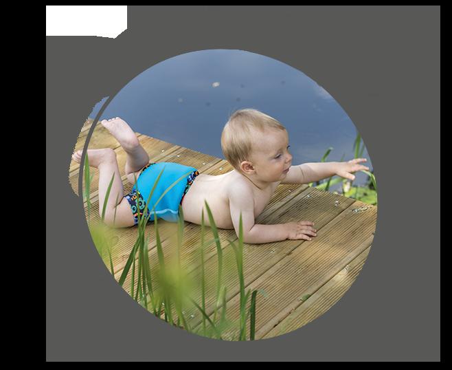 Neoprenové kojenecké plavky
