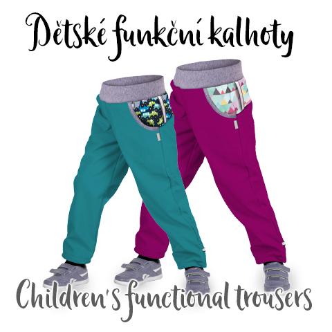 Dětské funkční kalhoty (Children's functional trousers)