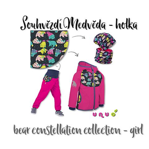 Kolekce Souhvězdí medvěda - holka