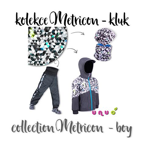 Kolekce Metricon - kluk  (Collection Metricon - boy)