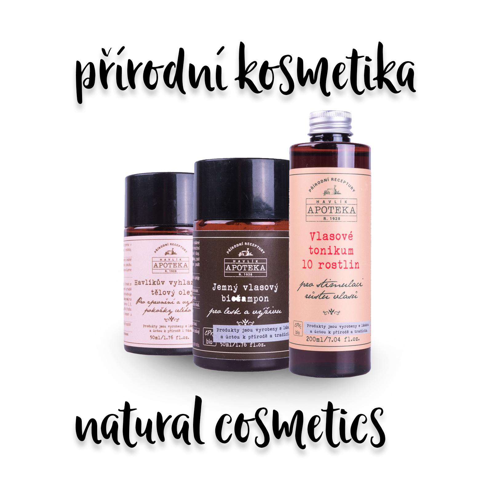 Kosmetika a péče o miminko (Natural cosmetics)