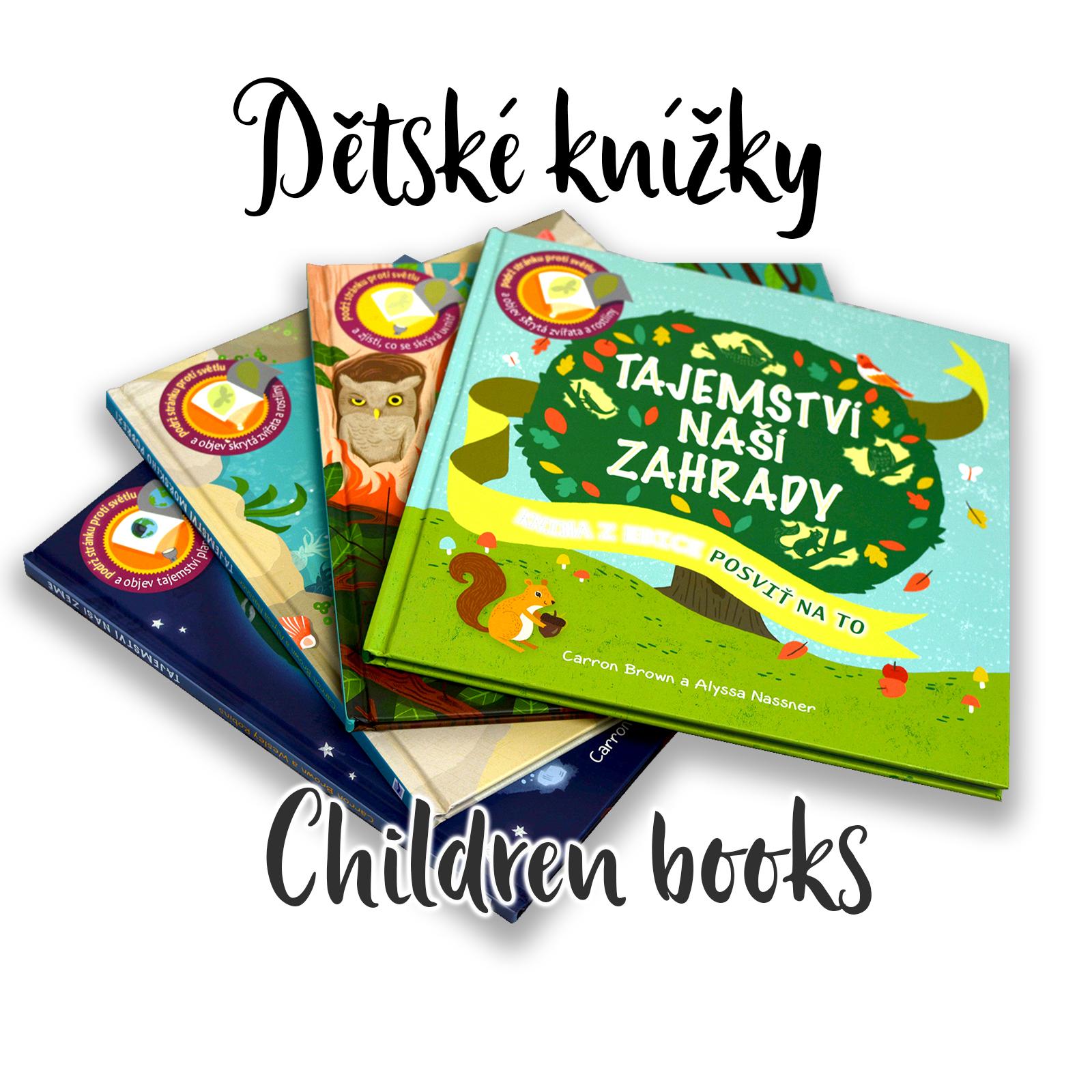 Dětské knížky (Children books)