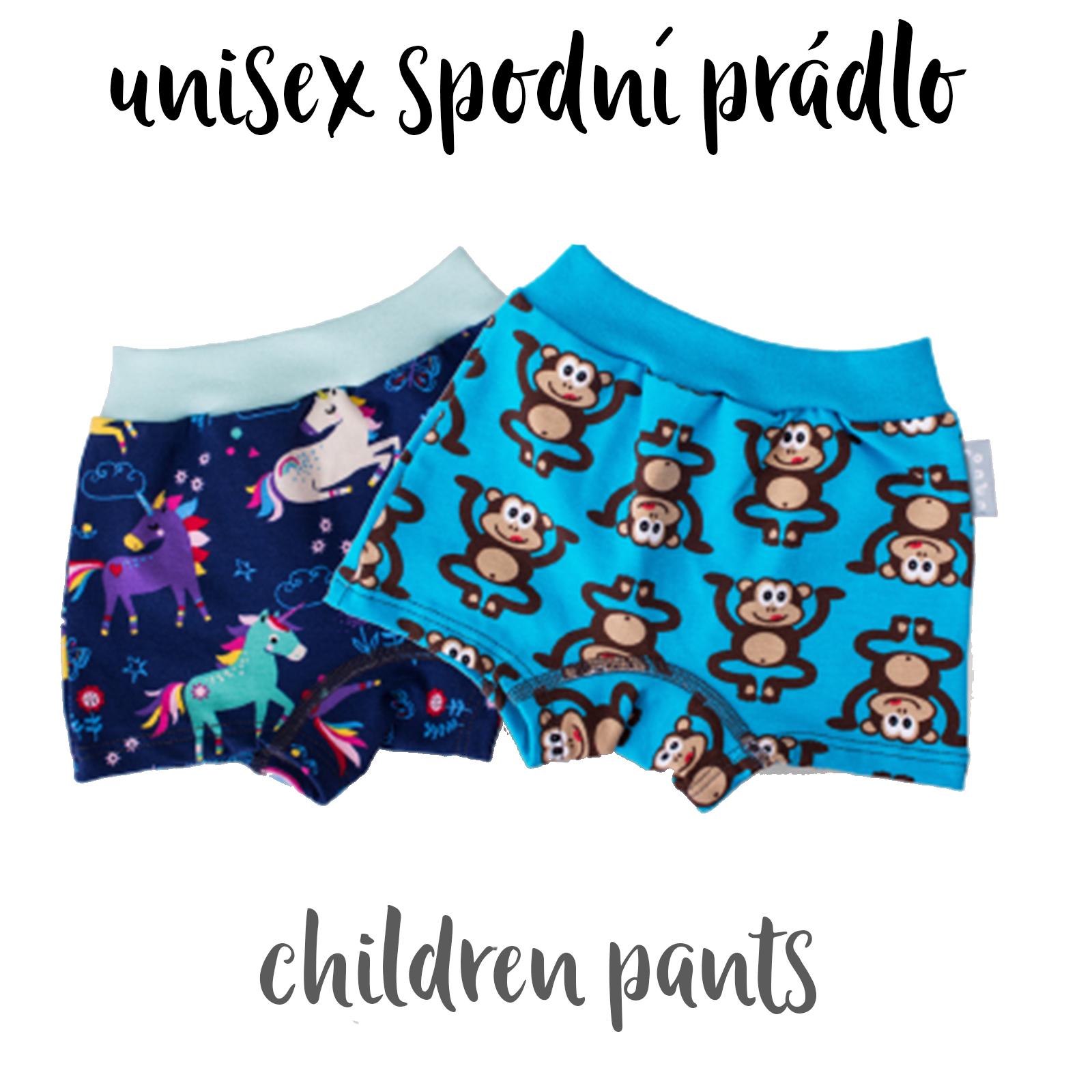 Dětské kalhotky / trenýrky UNISEX (Children's pants UNISEX)