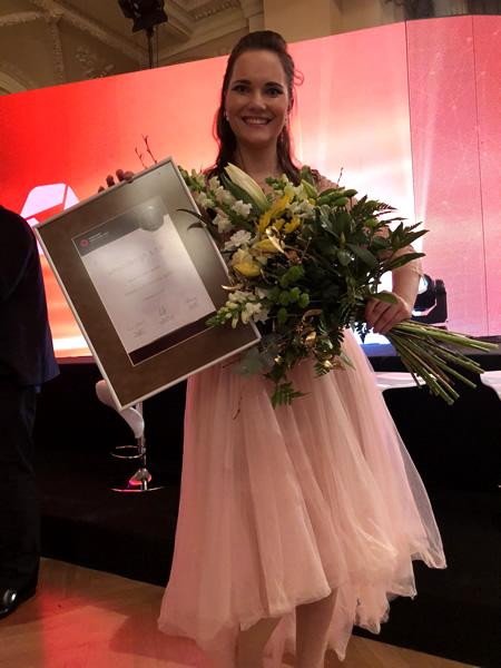 Petra Plemlová - Vodafone firma roku 2017