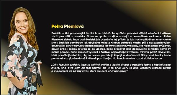 Petra Plemlová - Milionář mezi námi