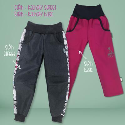 Rozměry kalhot