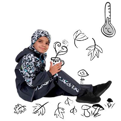Detské softshellové nohavice s fleecom
