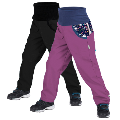 Detské softshellové nohavice