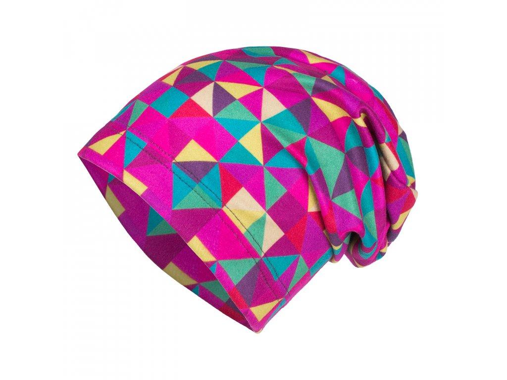Unuo, Detská fleecová čiapka, Triangl dievča