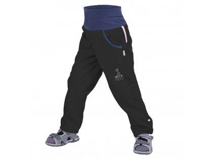Unuo, Detské softshellové nohavice bez zateplenia, Čierna
