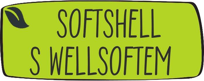 Softshell s wellsoftem - zimní