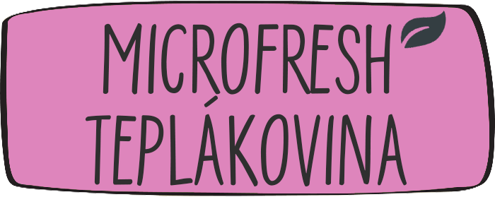 Microfresh teplákovina