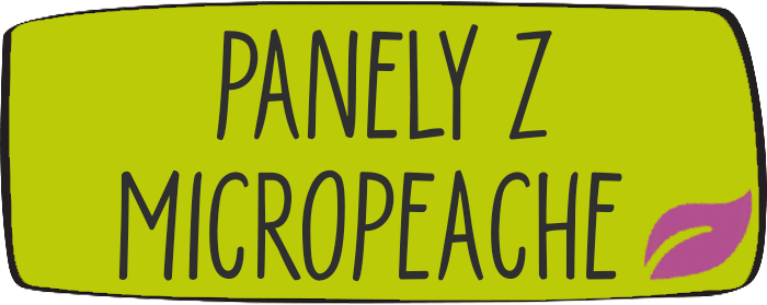 Panely z micropeache