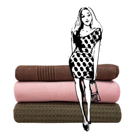 Oděvní a speciální materiály