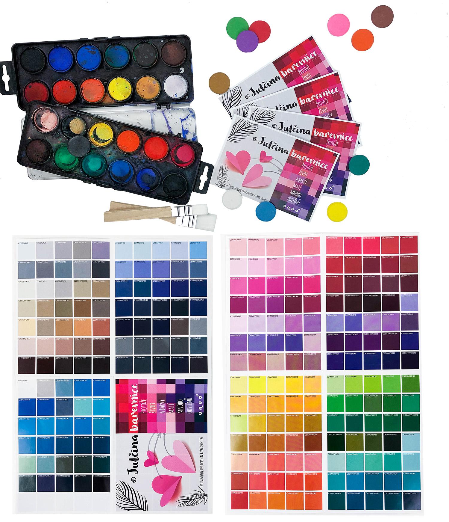 Julčina barevnice 2021