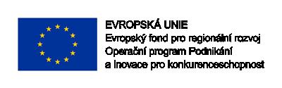 Evropský fond pro regionální rozoj - Operační program podnikání a inovace pro konkurenceschopnost
