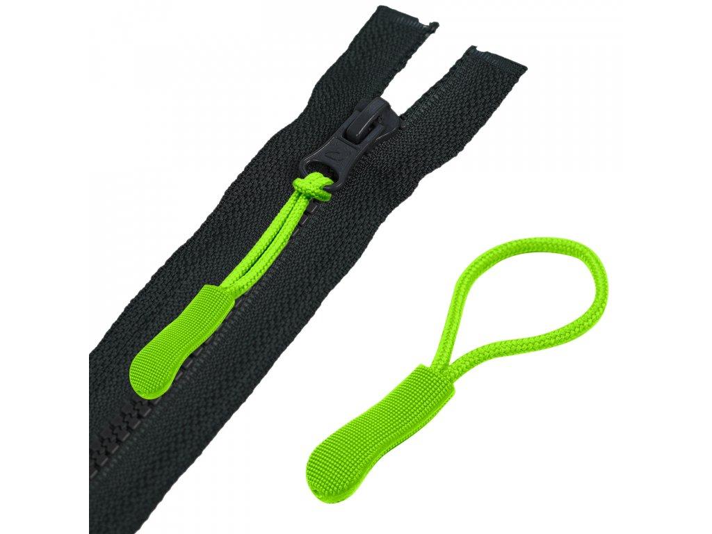 CMYK neon zelena unuo tahacek plastovy