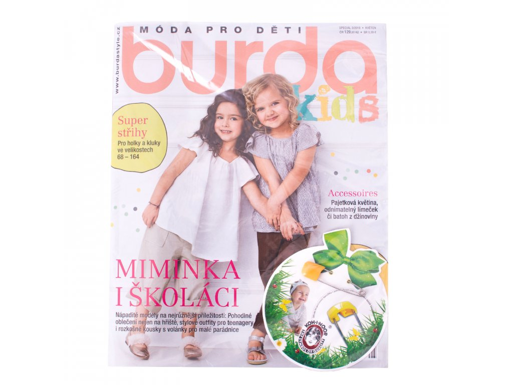0a8118499 Burda kids, 3/2018 - unuodesign.cz