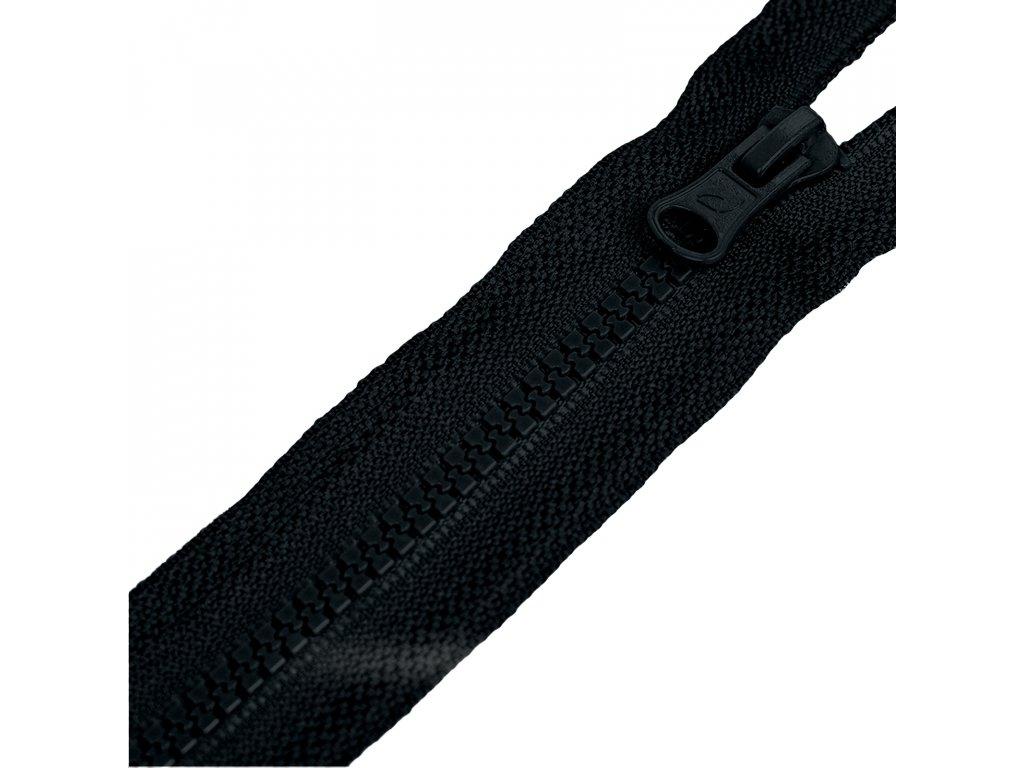 Zip kostěný dělitelný,Černá
