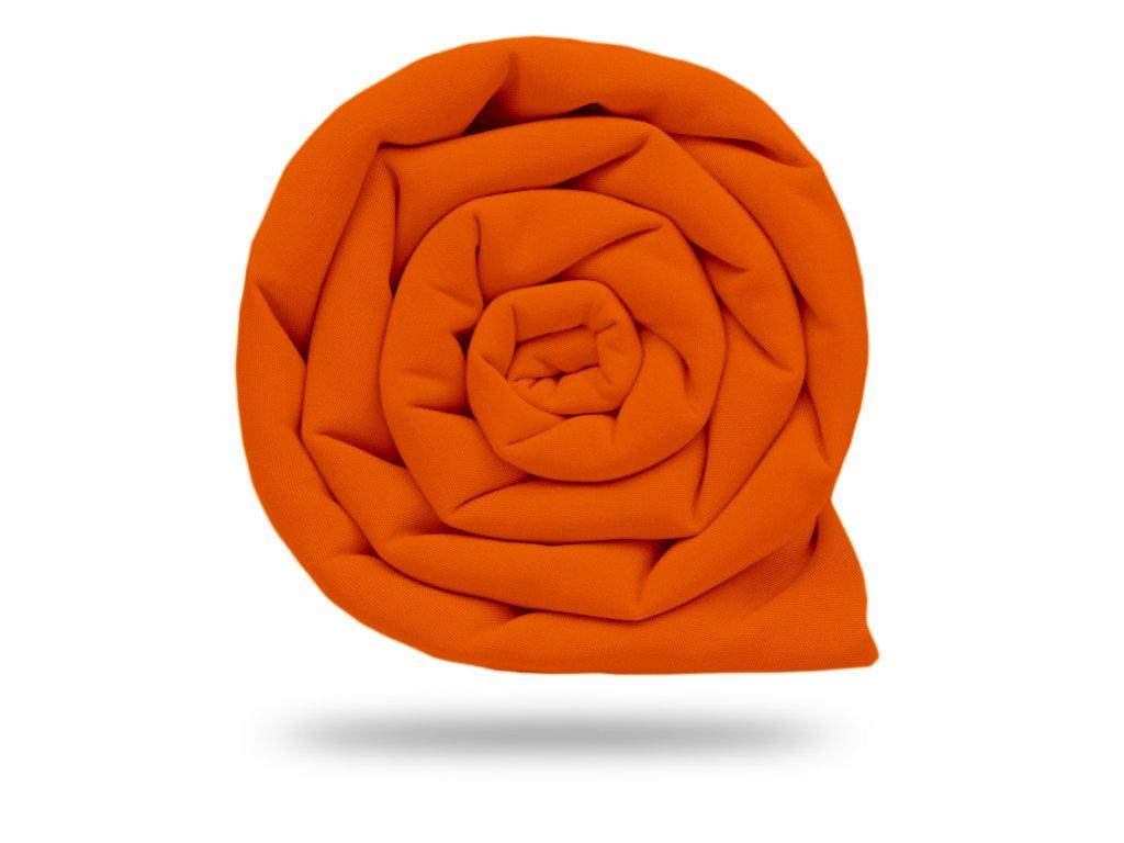 Softshell zimní s fleecem 10/3, Tm. Oranžová Sytá