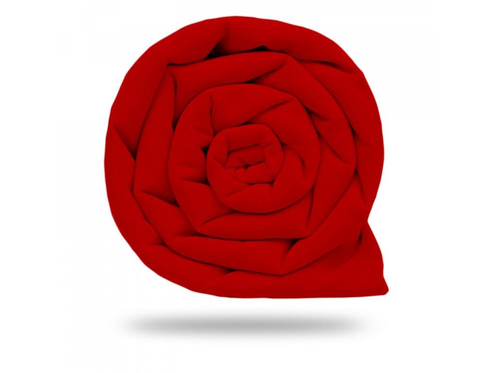 Plátno bavlněné elastické 235 g, Červená Ostřejší