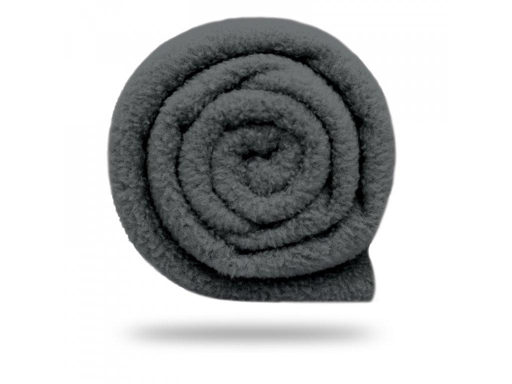 Fleece antipilling 190 g, Sv. Šedá